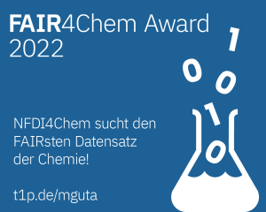 FAIR4Chem Award banner de