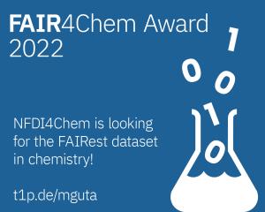 FAIR4Chem Award banner en